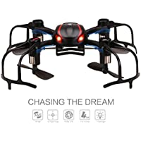 YSHESS X902 Black Spider Mini RC Quadcopter Drone with 3D Flip 2.4Ghz 6-Axis Gyro for Beginner