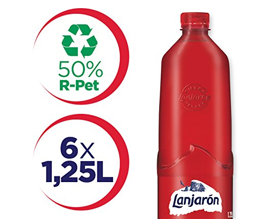 Lanjarón Agua Mineral Natural Sostenible - Pack 6 x 1,25 l: Amazon.es: Amazon Pantry