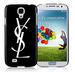 Unique And Luxurious Designed For Samsung Galaxy S4 I9500 i337 M919 i545 r970 l720 Cover Case With YSL 5 Black Phone Case