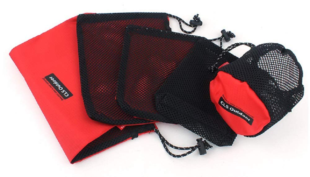 Sportive Direct - Juego de 5 Bolsas Multiusos con cordón de ...