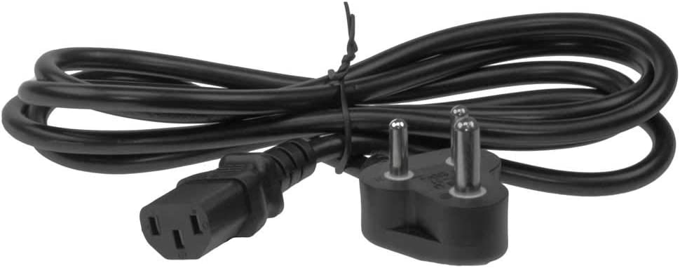 Amazon Com Sf Cable 6ft South Africa Smaller 3 Pin Plug To Iec C13 Power Cord Electronics