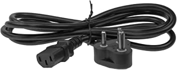 South Africa 2 pin to C7 Power Cord 6ft BS546