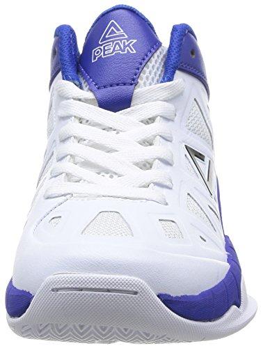 Peak Game 1 - Zapatillas Unisex niños White/Royal