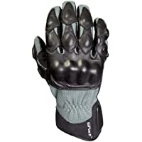 Decade Motorsport Street Gloves (Black and Gray,...