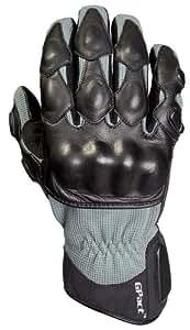Decade Motorsport Street Gloves (Black and Gray, Medium/Large)
