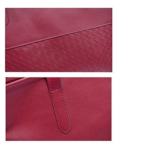 Hombro Las Bolsa Pequeñas Rojo Bolso Cartera Mujeres De De Mensajero De Bolso FZgRTR