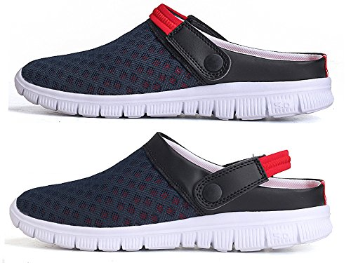 Eagsouni Unisex Men's Women's Summer Breathable Mesh Net Cloth Slippers Beach Sandals Anti-Slip Casual Shoes SA9g2YNa