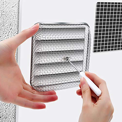 Tatuo-Flying-Insect-Screen-RV-Furnace-Vent-Cover-Water-Heater-Vent-Cover-Stainless-Steel-Mesh-with-Installation-Tool-45-x-45-Inch