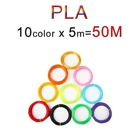No-branded Pantalla LED 3D Pluma DIY 3D Impresora de la Pluma 100m ...
