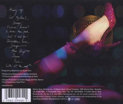 MADONNA CONFESSIONS BAIXAR CD
