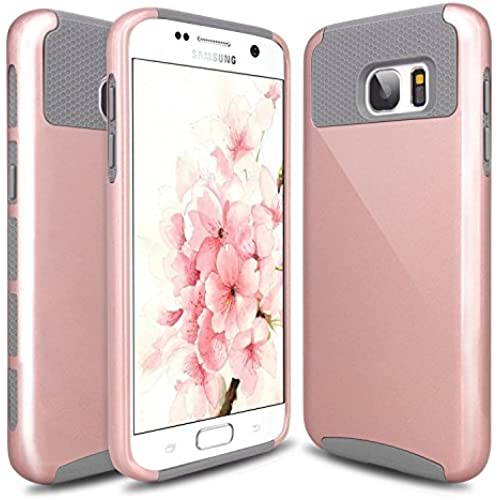 S7 Edge Case, Galaxy S7 Edge Case, Hinpia Hybrid Slim Dual Layer Protective Case Anti Scratches Shockproof Hard Sales