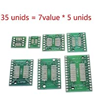 tyughjytu 35pcs 7value * 5pcs PCB Junta kit