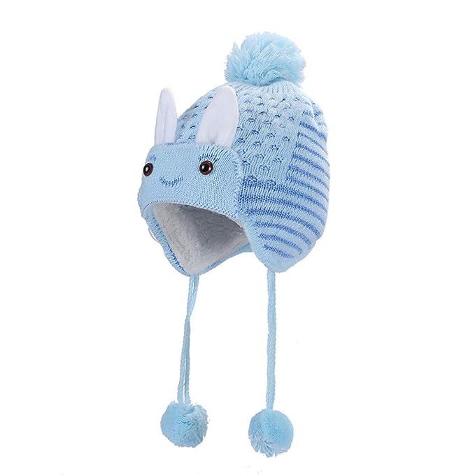 e0971931fc5 CATSAP Lovely Winter New Born Baby Beanie Caps For Boys Girls Kids Cap  Christmas Rabbit Cotton