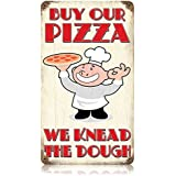 Buy Our Pizza Food and Drink Vintage Metal Sign - Victory Vintage Signs