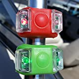 Bright Eyes Green & Red Portable Marine LED Boating