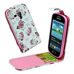 ZXC Samsung S3 Mini I8190N compatible Graphic/Special Design PU Leather Full Body Cases