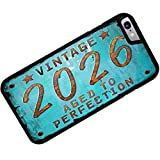 Rubber Case for iphone 6 Vintage Year 2026, Born/Made - Neonblond