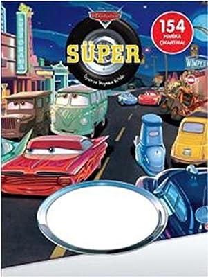 Disney Arabalar Super Oyun Ve Boyama Kitabi 154 Harika Cikartma