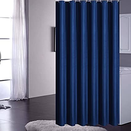 Avershine Shower Curtain Polyester Fabric Mildew Resistant Anti Bacterial Non Toxic
