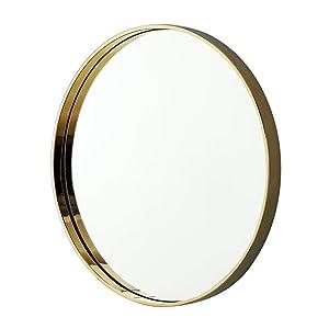 ZI LING SHO Miroir de Maquillage Haute définition Clarity sur Le Mur, Métal, 70cm