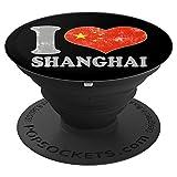 Chinese Flag I Love Shanghai China Souve
