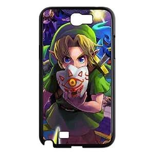Samsung Galaxy Note 2 Cell Phone Case Black ZELDA Majora's Mask Popular Games image KOL5046054