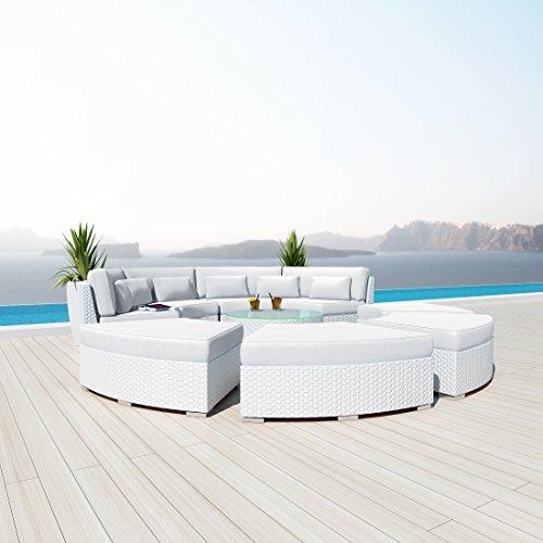 NEW Uduka Modavi pcs Outdoor Round Sectional Patio Furniture