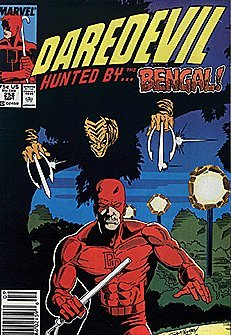 Price comparison product image Daredevil (1964 series) #258 NEWSSTAND