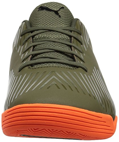 Zapatillas De Fútbol Puma Evospeed Star S2 Para Hombre Olive Night-puma Black-shocking Orange