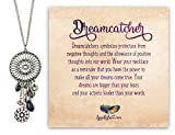 Bohemia ♥Valentine's Day Gift♥ [Gift Packing] Dreamcatcher Pendant Long Heart & Free Spirit Bird Necklace - Spunky Soul Collection