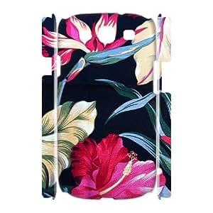Retro Floral Series Custom 3D Cover Case for Samsung Galaxy S3 I9300,diy phone case ygtg599136