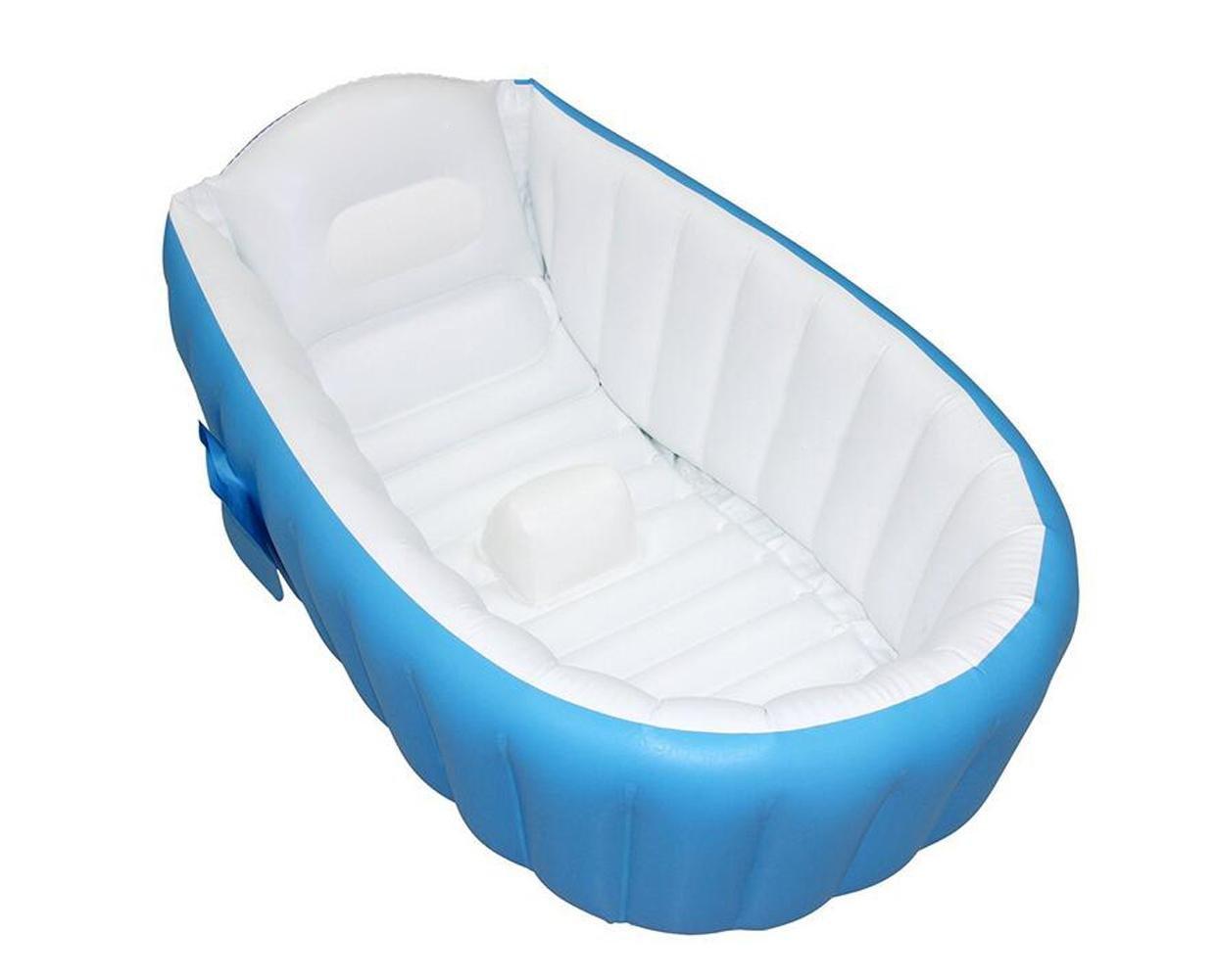 OOFWY Baby aufblasbarer Scherle Inflatable Bad-Bassin-Baby-Pool (98  64  28cm)