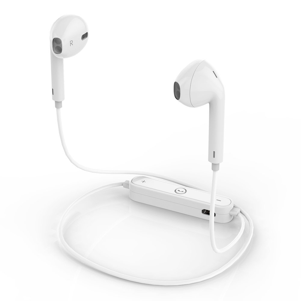 Bluetooth Headphones, iZone Wireless Earbuds Bluetooth V4.1 Sweatproof Sports Earphones, Car Stereo Headset with Mic for iPhone Android