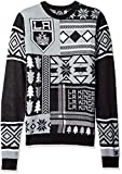 NHL Los Angeles Kings Patches Ugly Sweater, Black, Large