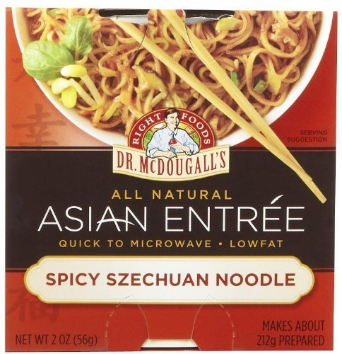 - Dr. McDougall's Asian Entree, Spicy Szechuan Noodle- 2 oz, 6 pk by Dr. McDougall's