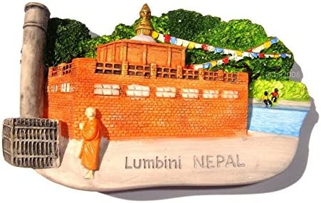 Kapilavastu budista lumbini Nepal Souvenir imán para nevera ...
