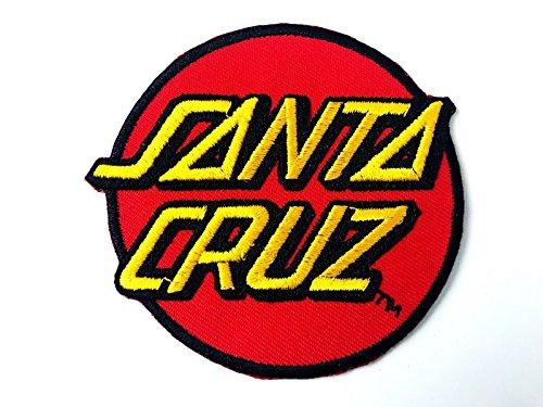 JN Siam789 SpeedWheels Santa Cruz Classic Dot Skateboard Embroidered Iron on Patch