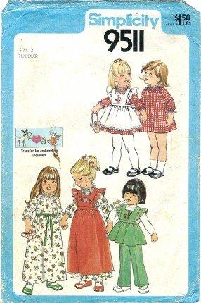 80 dress patterns - 9
