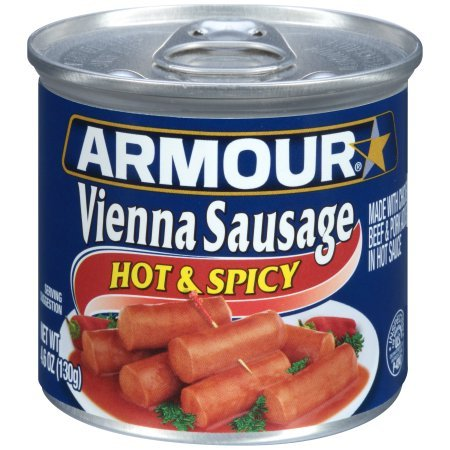 (Armour Hot and Spicy Vienna Sausage, 4.6 Ounce (Pack of 6) )