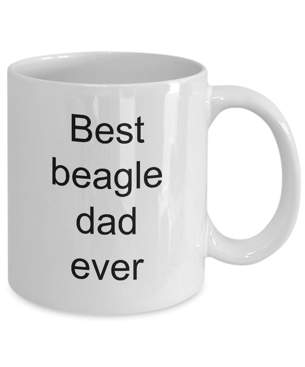 Best Beagle Dad Ever Mug Coffee Cup Dog Lover Gifts Animal Rescue Pet Owner