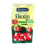 Restorz Biotin 5000mcg Gummies - Gelatin Free, Vegetarian - Single Pack
