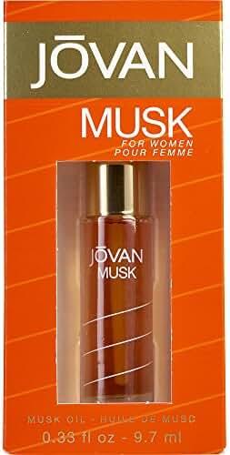 JOVAN MUSK by Jovan PERFUME OIL .33 OZ (Package Of 3)