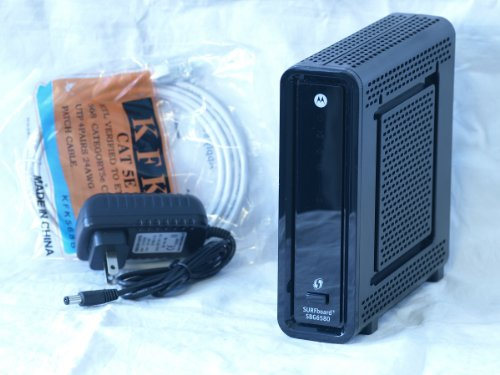 SBG6580 Motorola Surfboard Docsis 3.0 Wireless Cable Modem