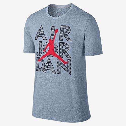 Air Jordan Dri-FIT (XX-Large, Blue Grey Heather/Black/Infrared 23)