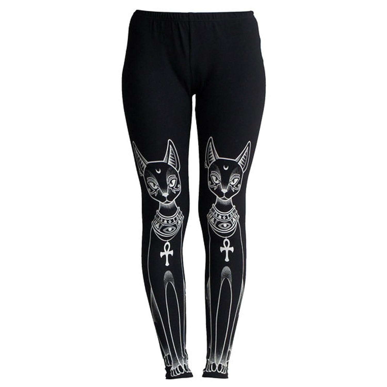Bast Killstar Okkult Leggings Black
