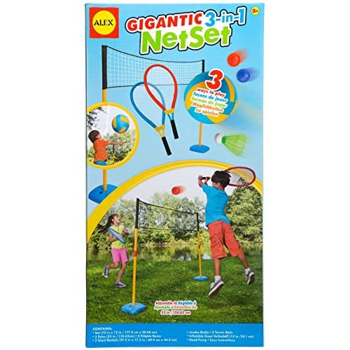 Alex Toys Pretend & Play - 774x - Le Kit 3 Jeux En 1 - filet De Sport Géant