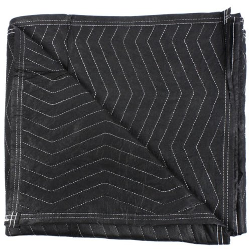 Moving Blanket (4-pack) 72'' X 80'' US Cargo Control - Econo Mover (4.5 Lbs/Each, Black/Black) by US Cargo Control (Image #2)