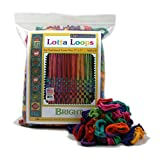 "Harrisville Designs 7"" Bright Lotta Loops in Assorted Colors-Makes 8 Potholders"