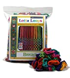 Harrisville Designs 7'' Bright Lotta Loops in Assorted Colors - Makes 8 Potholders