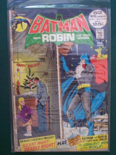 Batman with Robin Comic Book (Silent Night, Deadly Night, 239)